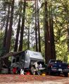 2013 Used Livin' Lite QUICKSILVER VRV 7X20 Toy Hauler in California CA