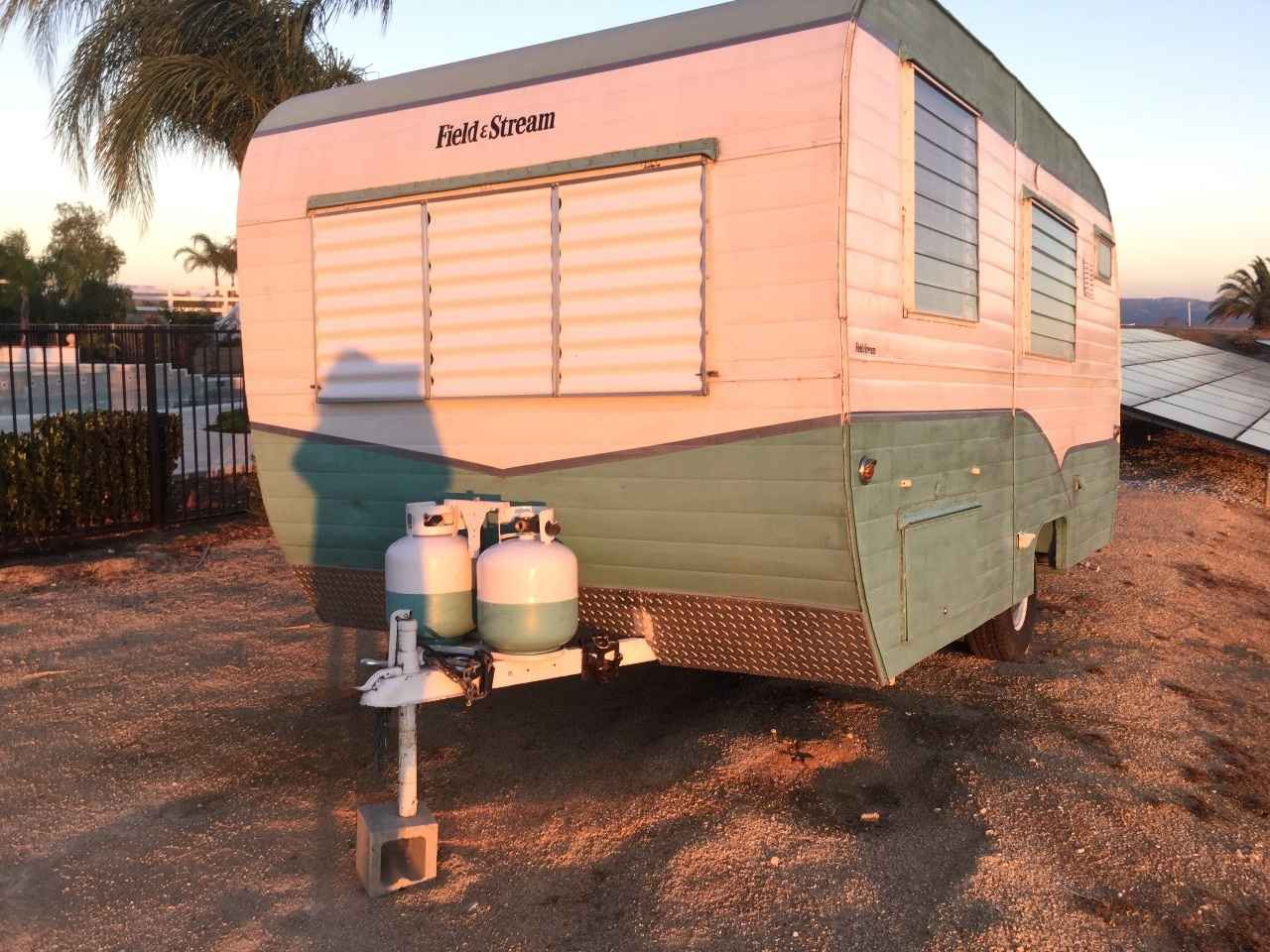 1957 Used Vintage Trailers OTHER Travel Trailer in California CA