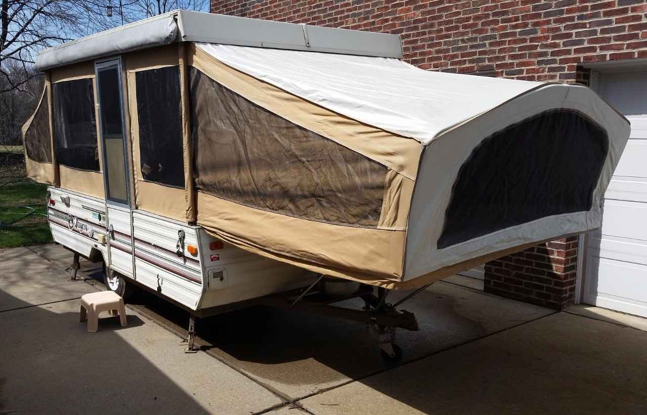 Class 2 Hitch >> 1989 Used Jayco JAY SERIES 1006 Pop Up Camper in Pennsylvania PA