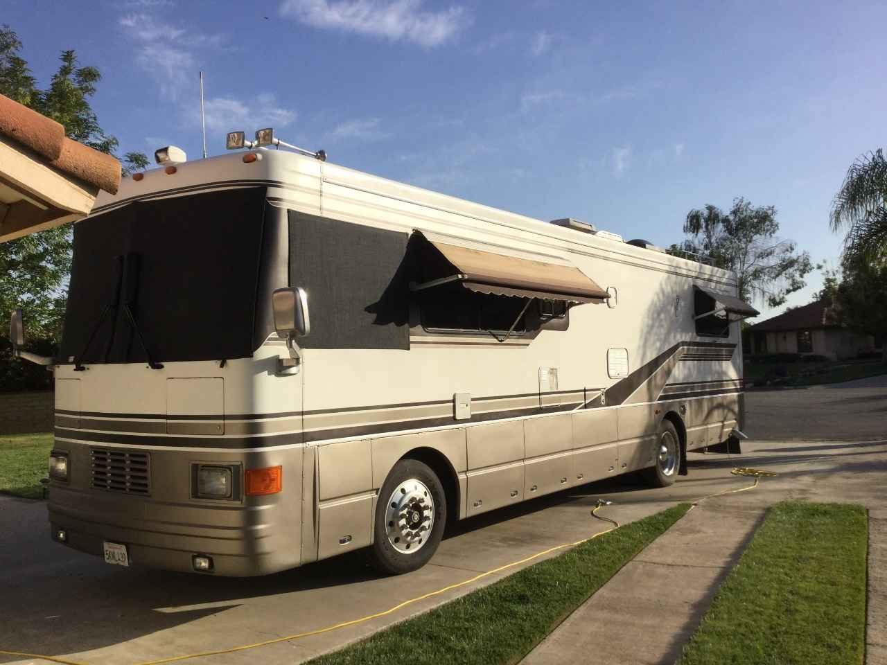 1995 Used Hawkins Motor Coach Hmc Class A In California Ca