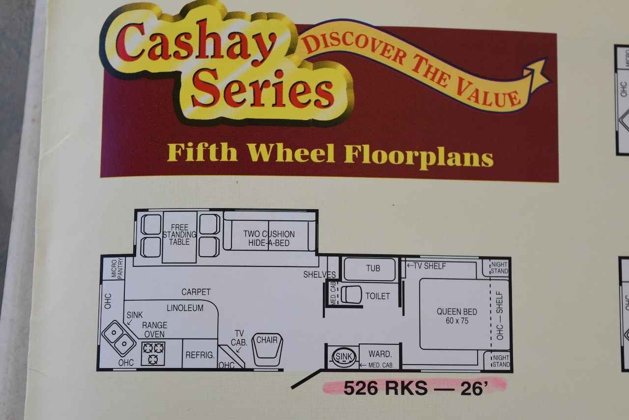 1996 Used Carriage Carri Lite 526rks Fifth Wheel In North Carolina Nc