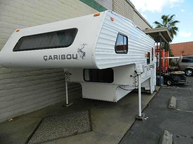 1997 Used Fleetwood Caribou Truck Camper in California CA