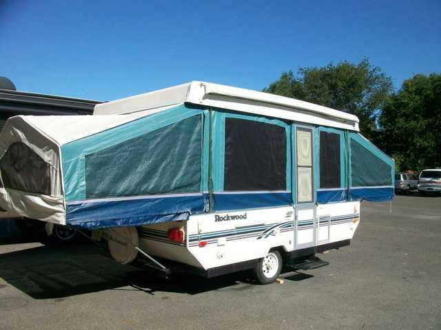 1997 Used Forest River Rockwood Premier 2306 Pop Up Camper