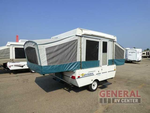 1998 Used Dutchmen Rv Dutchmen 801D Pop Up Camper in Michigan MI