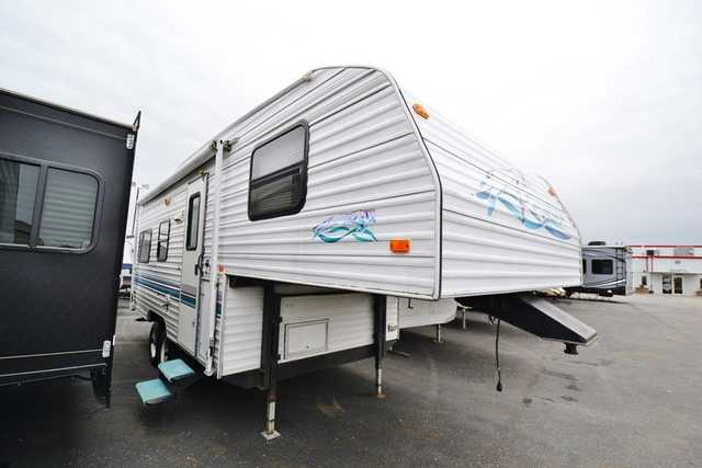 1998 Used Fleetwood Prowler 21l 5b Fifth Wheel In Ohio Oh