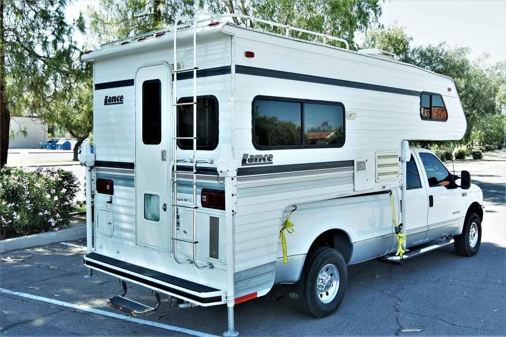 1998 Used Lance Legend 500 Truck Camper In Arizona Az