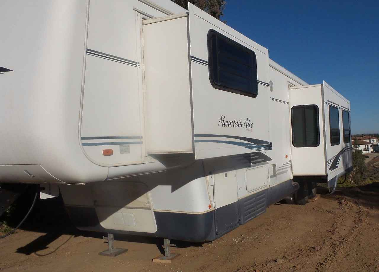 1998 Used Newmar Mountain Aire 39brck Fifth Wheel In