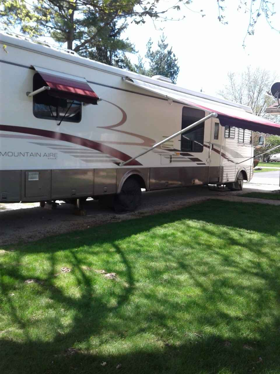 1999 used newmar mountain aire 3767 class a in indiana in for Mountain aire