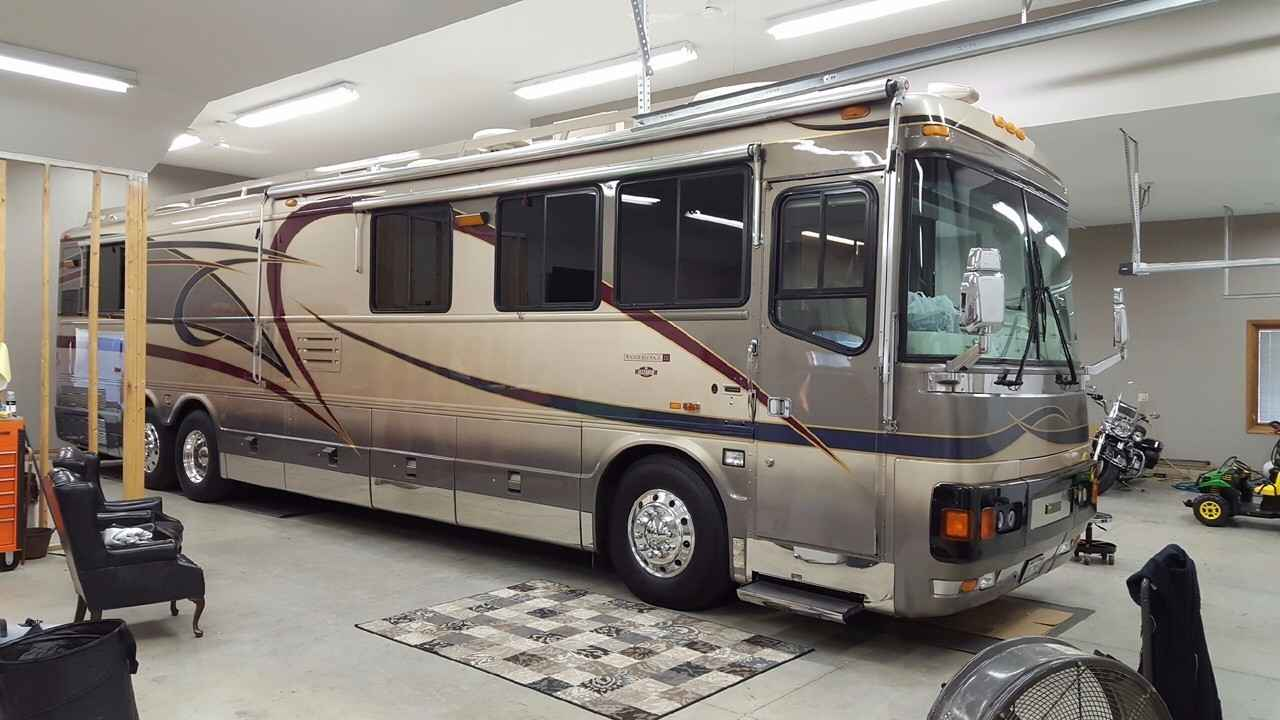2000 Used Blue Bird Wanderlodge Lxi Class A In Ohio Oh