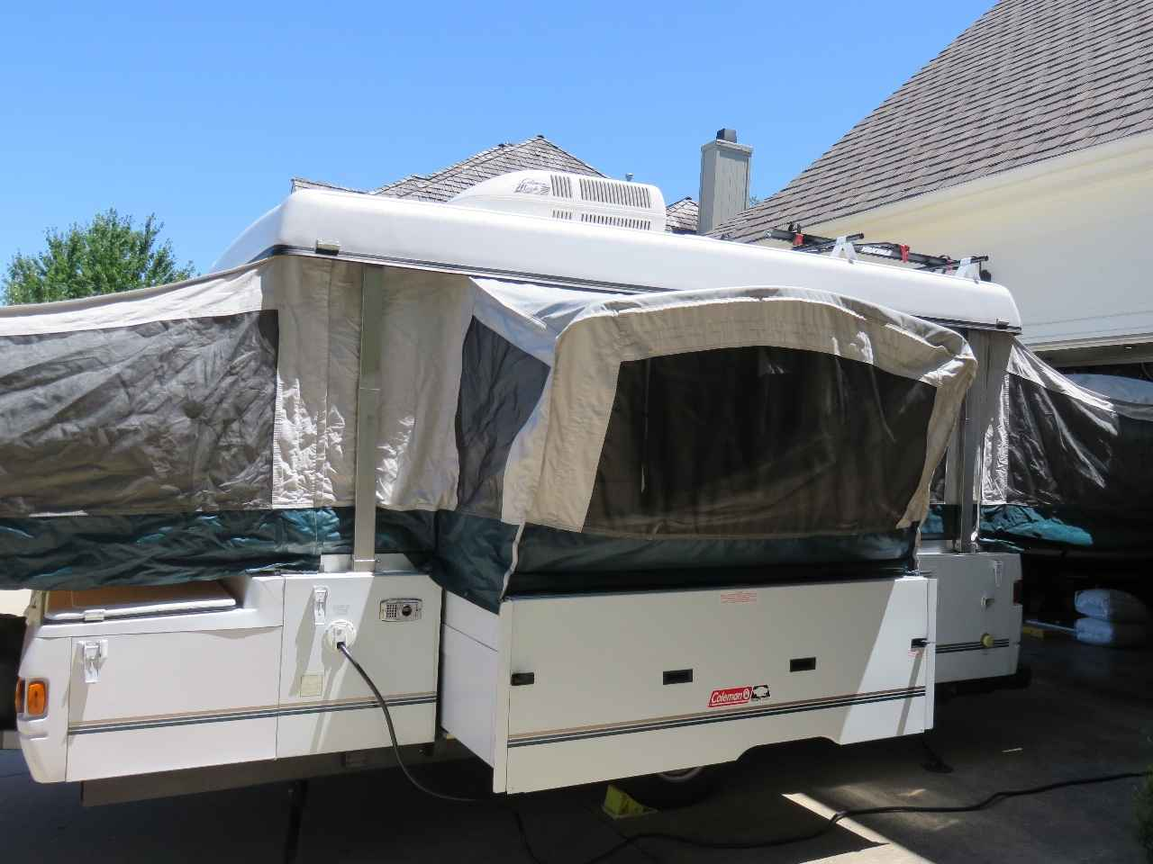 2000 Used Coleman Grand Tour Utah Pop Up Camper In Missouri Mo