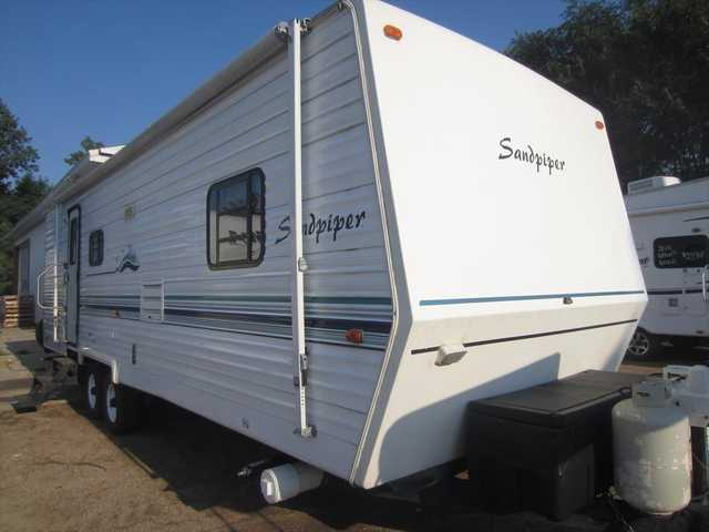 2000 Used Forest River Sandpiper 31bhss Travel Trailer In