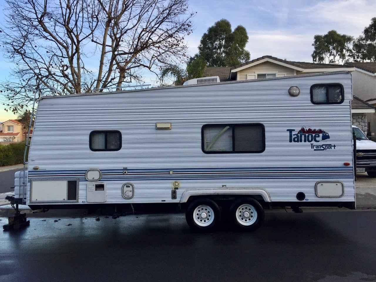 2000 Used Thor Motor Coach Tahoe 21tb Toy Hauler In