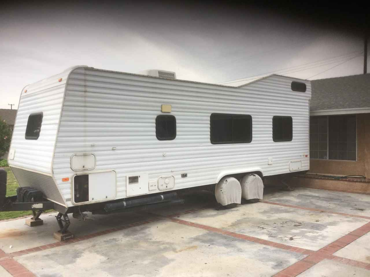 2001 Used Carson Trailer Fun Runner Toy Hauler In
