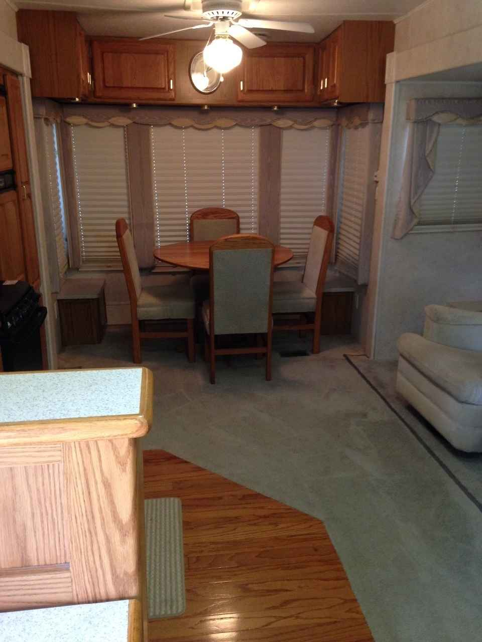 2001 Used Jayco Designer Legacy 3610rlts Fifth Wheel In