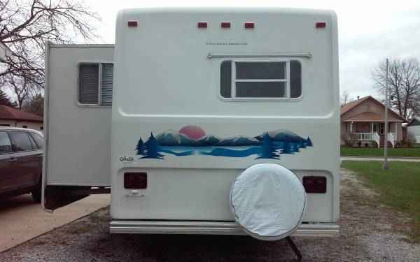2001 Used Sunnybrook Travel Trailer Fifth Wheel In Iowa Ia