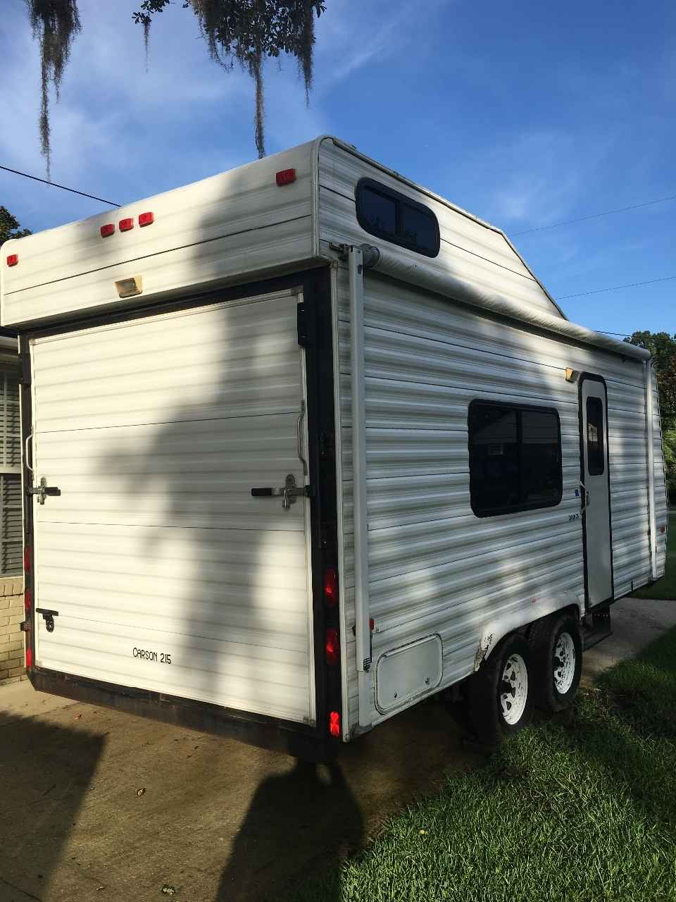 2002 Used Carson Trailer TRAILERS Toy Hauler in South ...