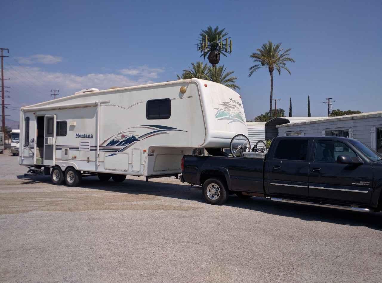 2002 Used Keystone Montana 2955rl Fifth Wheel In California Ca