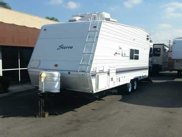 2003 Used Forest River Sierra Sport T25 Toy Hauler In
