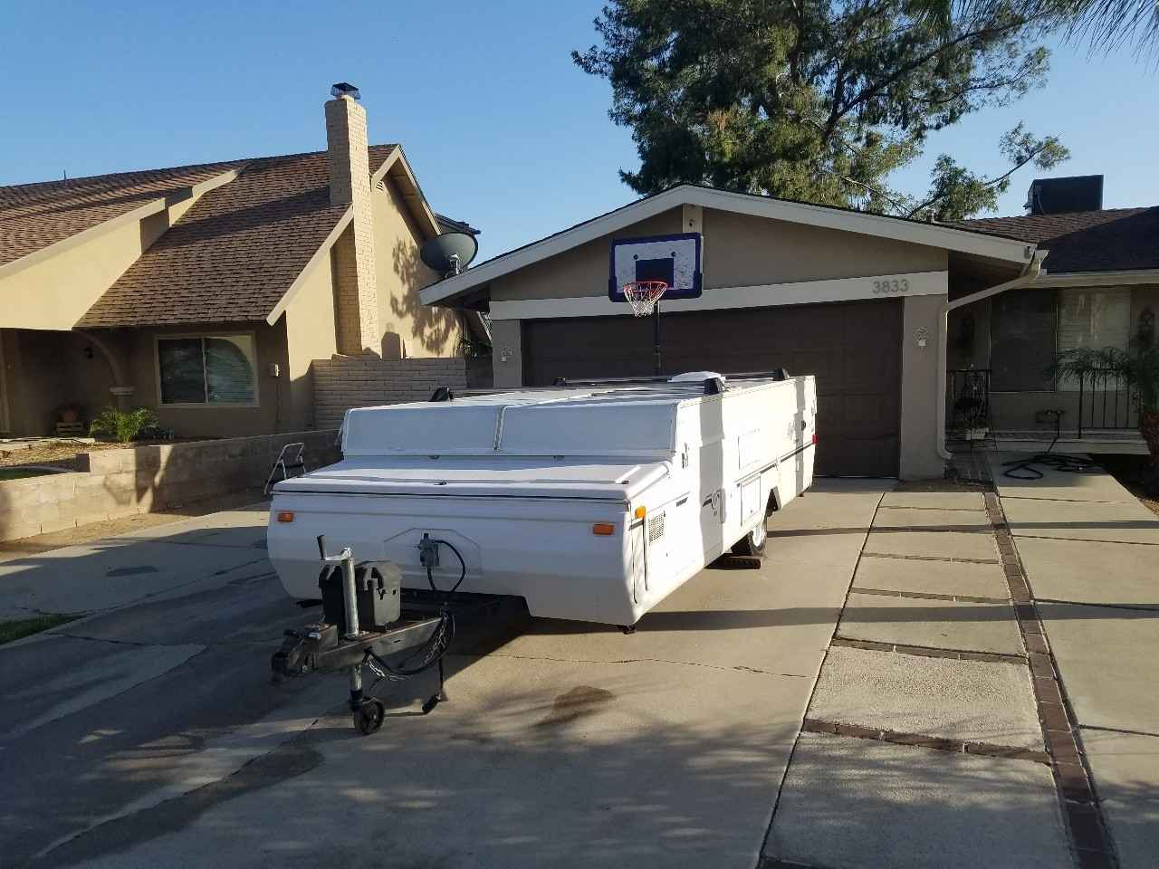 2003 Used Jayco EAGLE 12ST Pop Up Camper in California CA