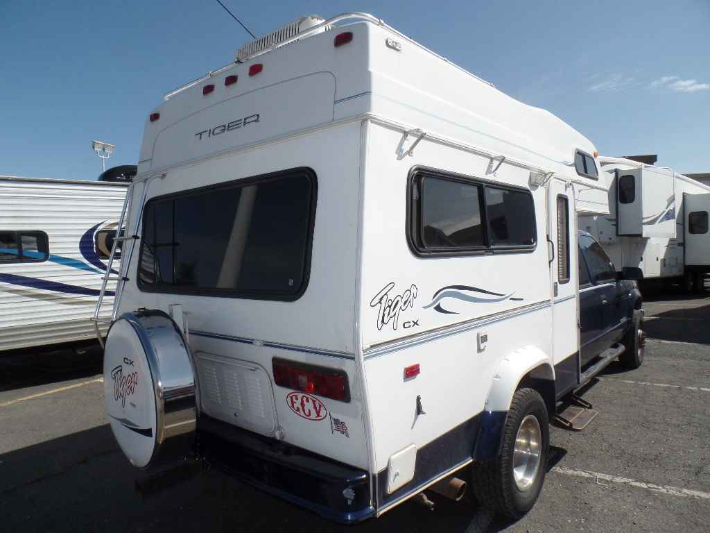 2003 Used Provan Tiger Cx Truck Camper In California Ca