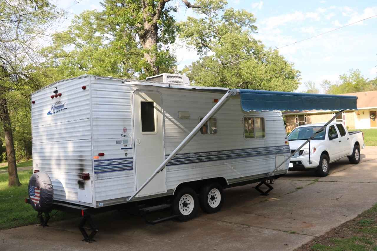 2003 Used Skyline Nomad 225 Travel Trailer In Texas Tx