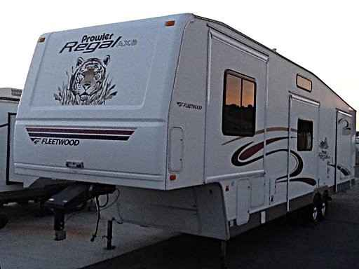 2005 Used Fleetwood Prowler Regal Ax6 38fkqs Fifth Wheel