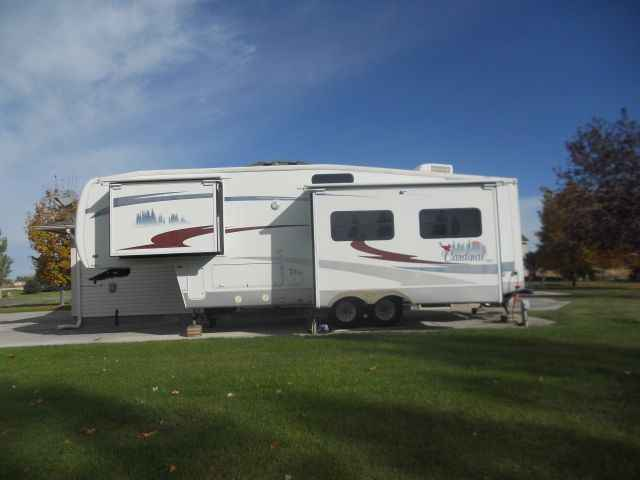 2005 Used Forest River Cardinal 29rk Fifth Wheel In Idaho Id
