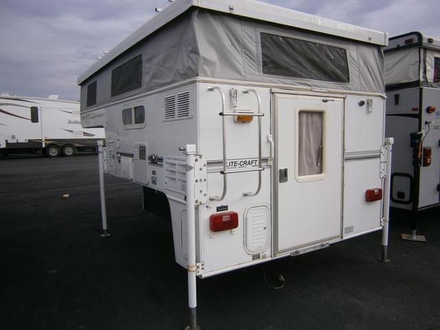 2005 used lite craft timberline 6 5 mini truck camper in for Lite craft camper specs