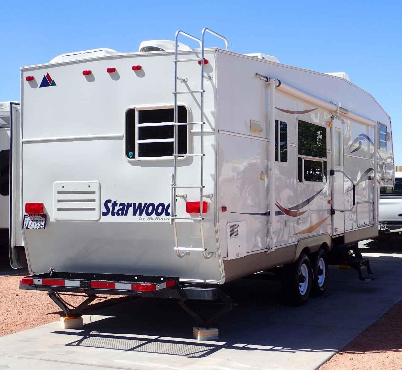 2005 Used Mckenzie STARWOOD 29RKS Fifth Wheel In California CA