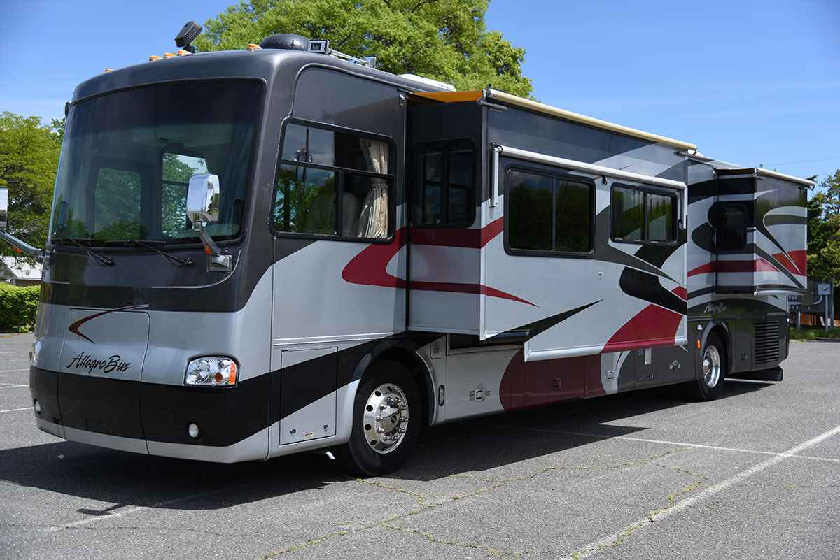 2005 used tiffin motorhomes allegro bus 40dp class a in for Allegro home