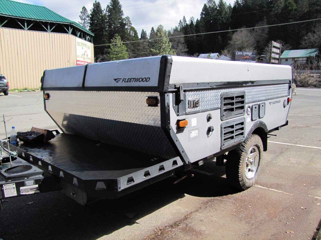 2006 Used Fleetwood Evolution Pop Up Camper In California Ca