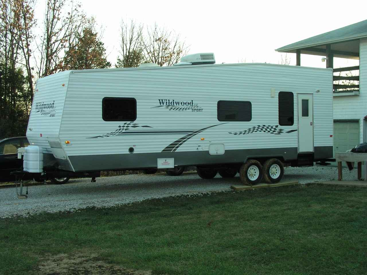 2006 Used Forest River WILDWOOD TOY HAULER Toy Hauler in ...