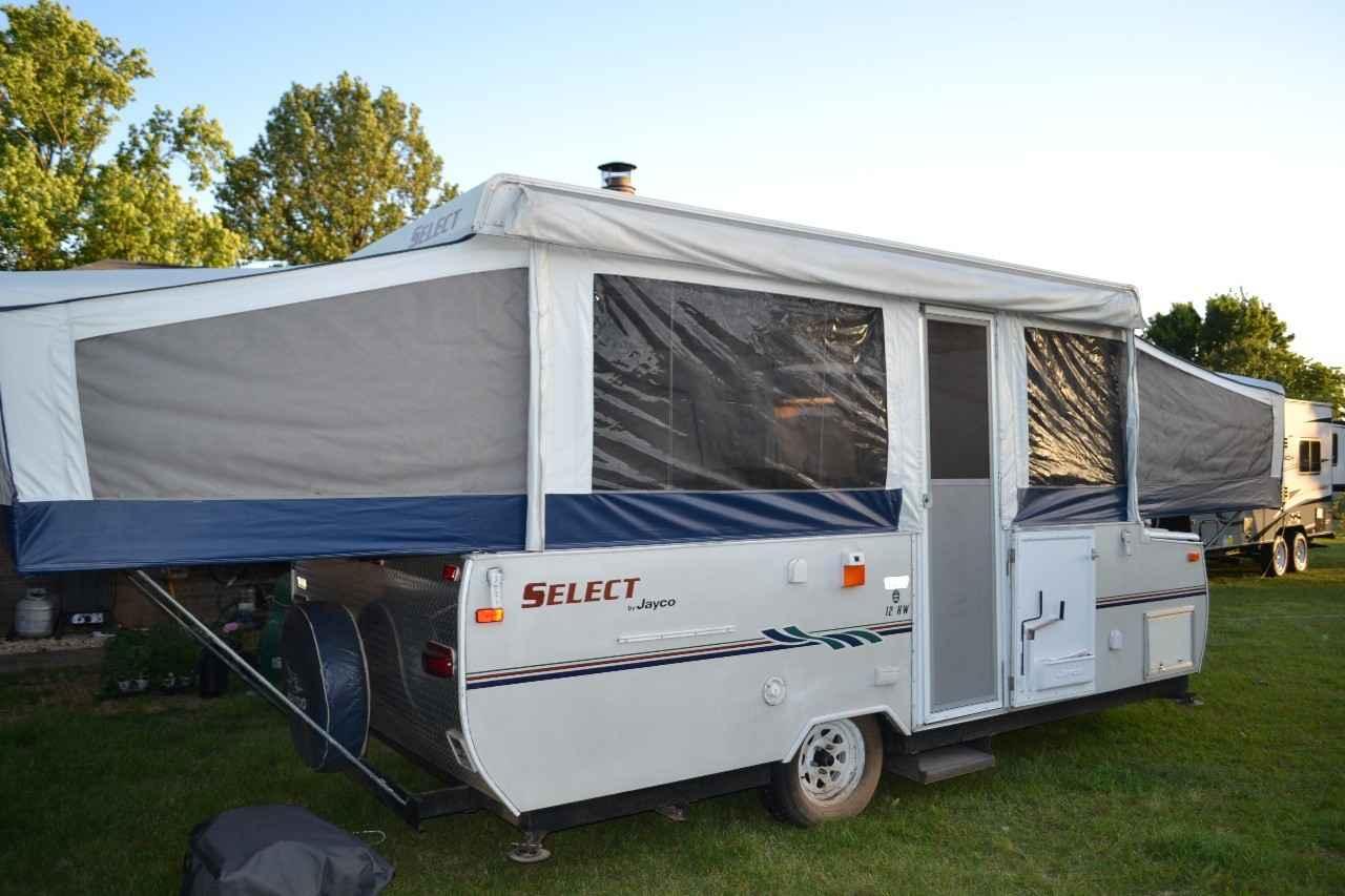 2006 Used Jayco Select 12hw Pop Up Camper In Alabama Al