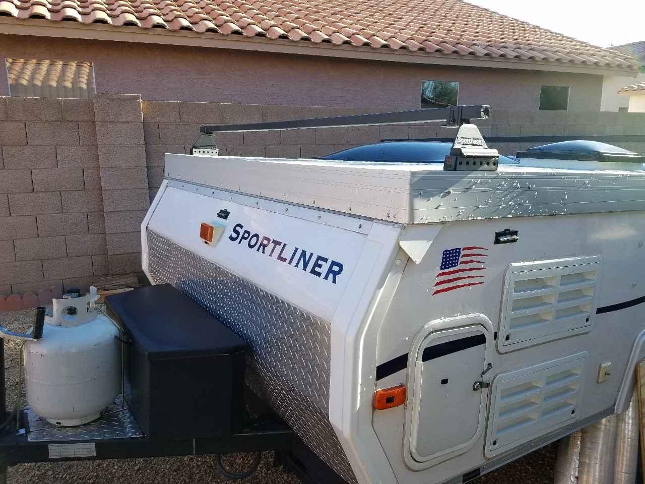 2007 Used A Liner Sport Pop Up Camper In Arizona Az