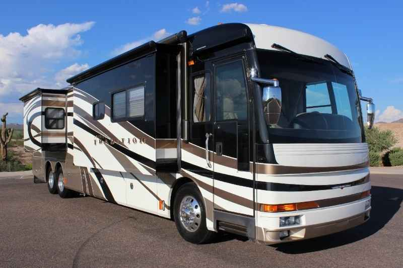 2007 Used Fleetwood American Tradition 42f Class A In