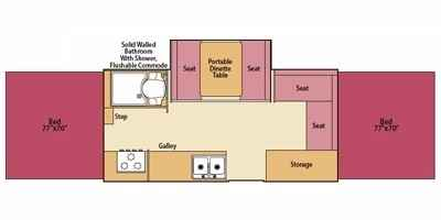 2007 used fleetwood arcadia pop up camper in massachusetts ma. Black Bedroom Furniture Sets. Home Design Ideas