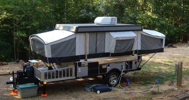 2007 Used Fleetwood Evolution Pop Up Camper In North