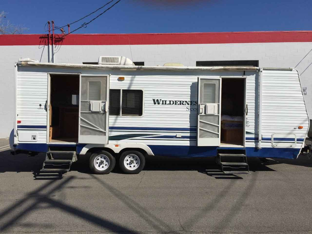 2007 Used Fleetwood Wilderness Scout Travel Trailer In