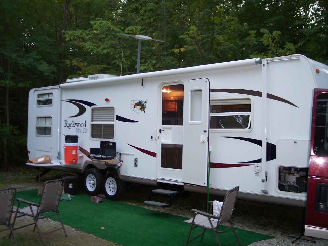 2007 Used Forest River Rockwood Ultra Lite 2701SS Travel ...