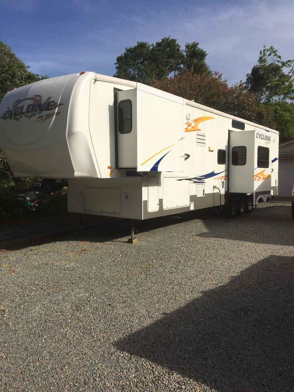 2007 Used Heartland CYCLONE 4012 Toy Hauler in North ...