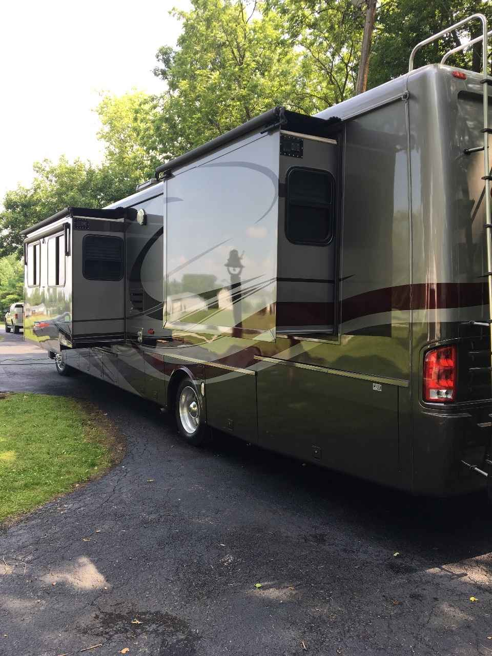2007 Used Newmar Mountain Aire 40 Class A In Ohio Oh