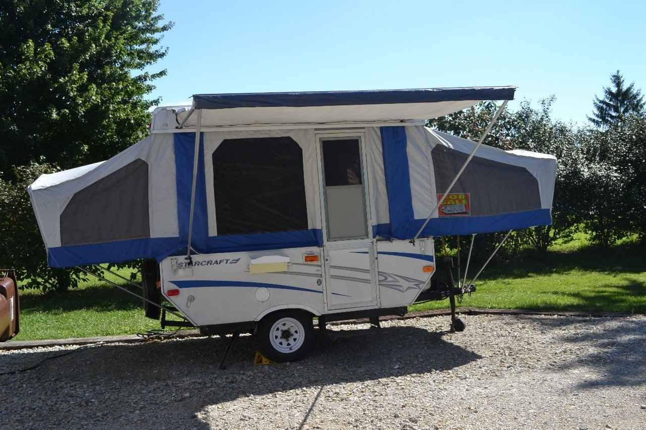 2007 used starcraft 1701 pop up camper in indiana in. Black Bedroom Furniture Sets. Home Design Ideas