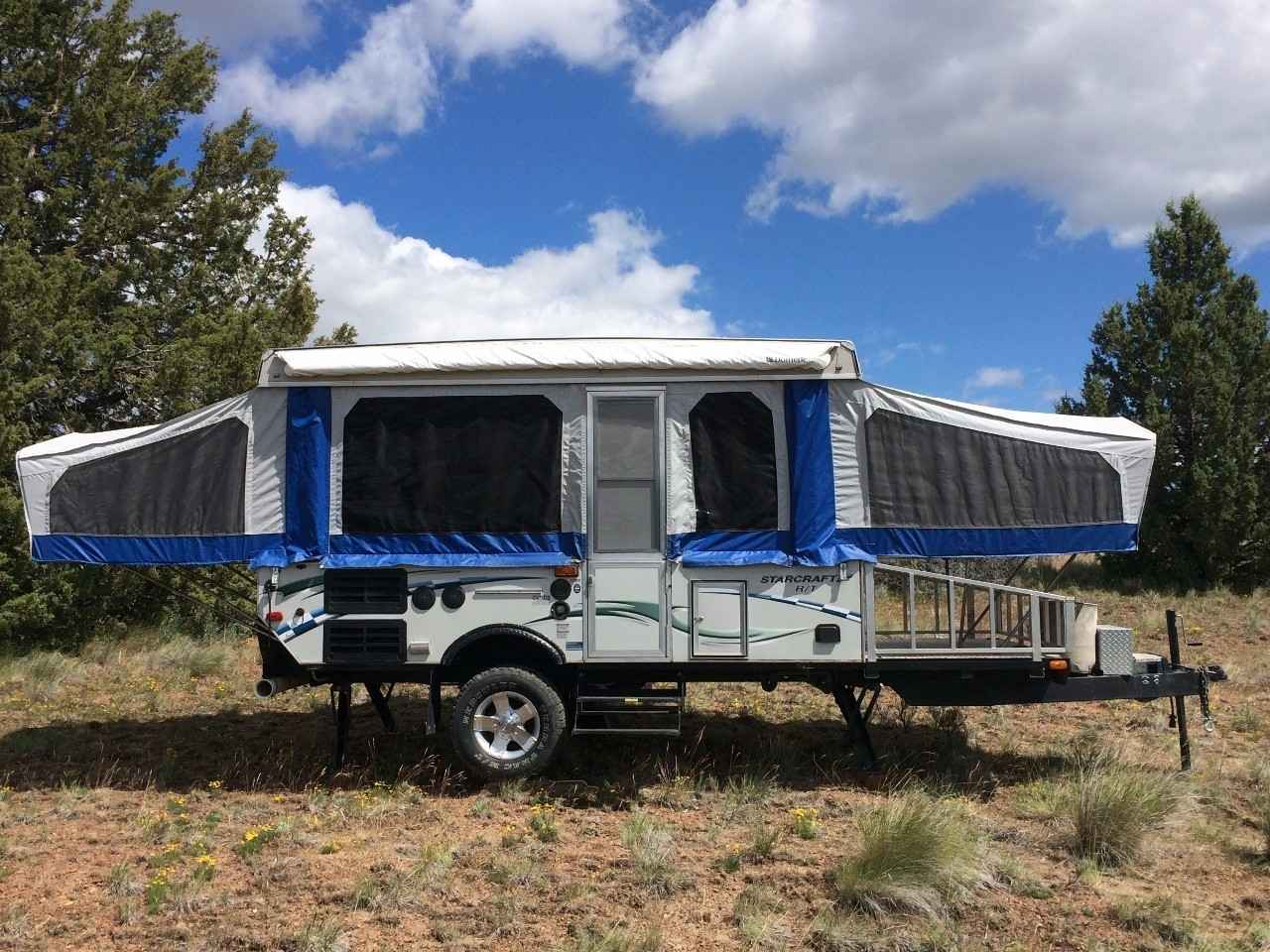 2007 Used Starcraft Rt 13RT Pop Up Camper in Oregon OR