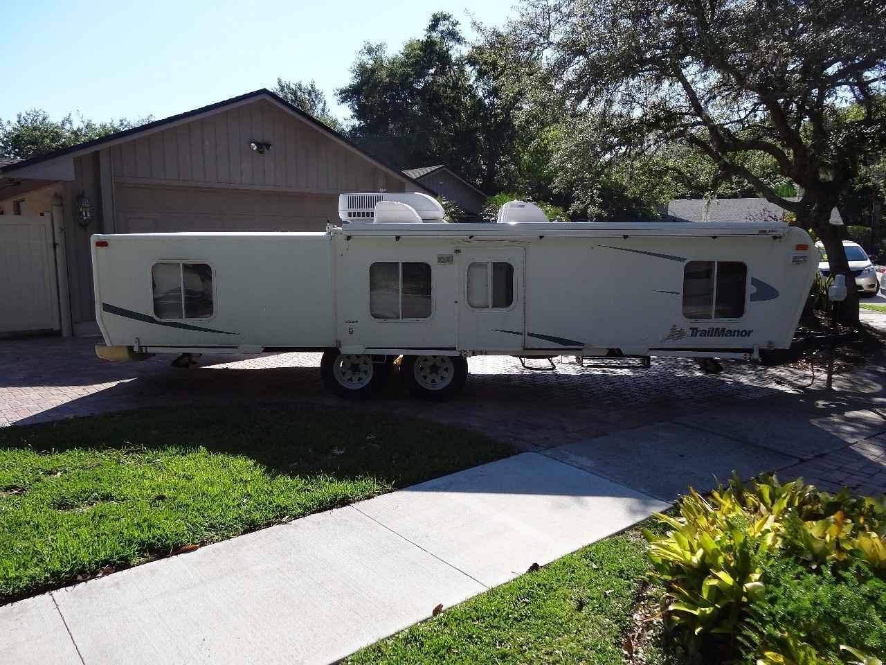 2007 Used Trailmanor 3326 KING Pop Up Camper in Florida FL