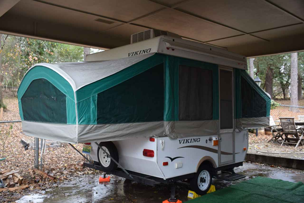 2007 Used Viking 8ft Box Viking Pop Up Pop Up Camper In