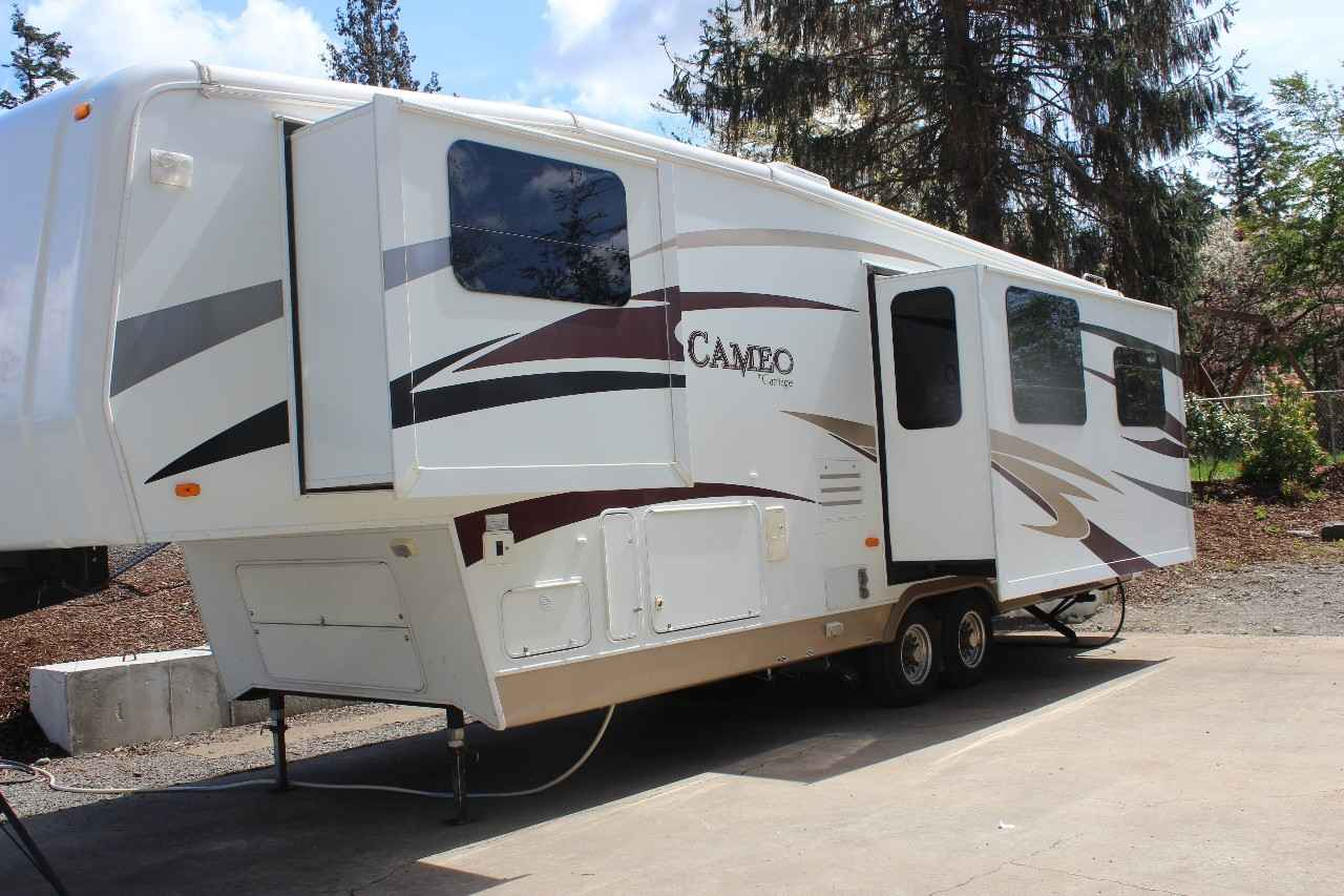 2008 Used Carriage Cameo 34ck3 Fifth Wheel In Washington Wa