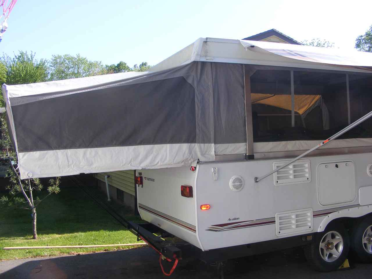 2008 Used Fleetwood Avalon Pop Up Camper In Connecticut Ct