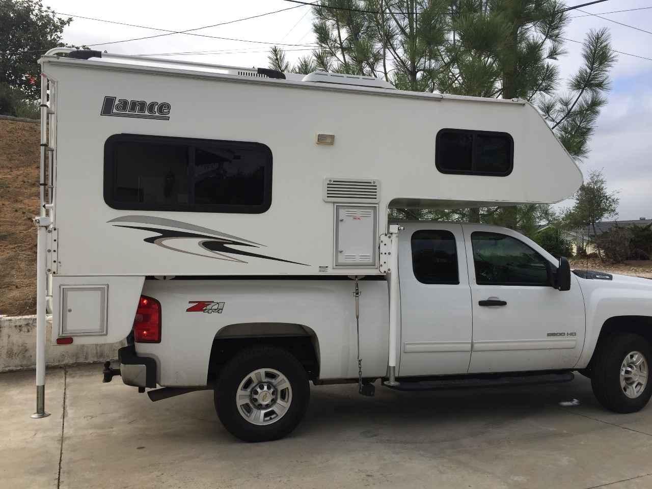 2008 used lance 815 truck camper in california ca