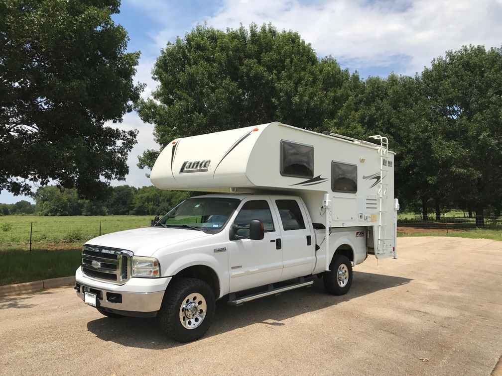 2008 Used Lance 830 Truck Camper In Texas Tx