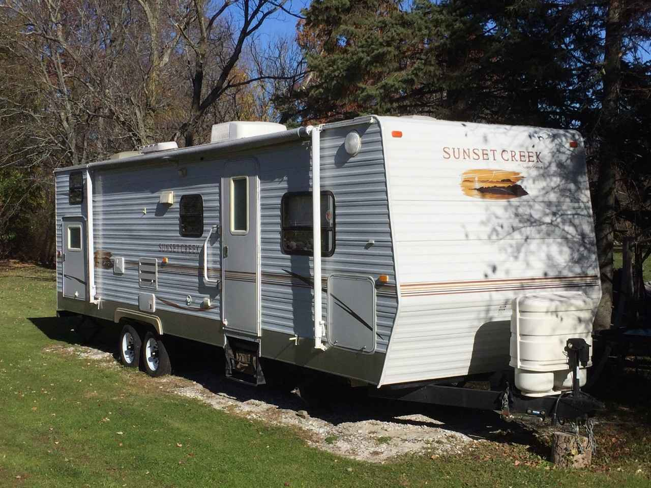 2008 Used Sunset Creek 298BH Travel Trailer in New York NY